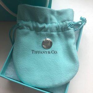"Tiffany & Co ""A"" Charm"